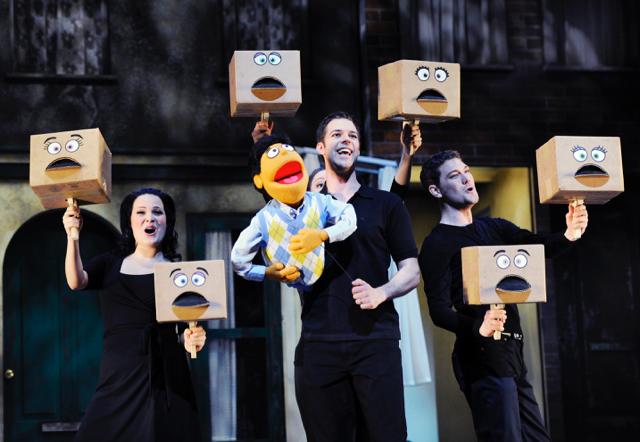 Manuel Steinsdörfer Avenue Q Theater St. Gallen 4